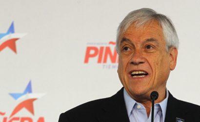 Piñera mantiene el primer lugar