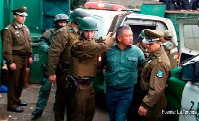 Carabineros detienen a Héctor Llaitul y otros 7 comuneros