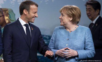 Merkel apuesta por una contribución francoalemana para la UE