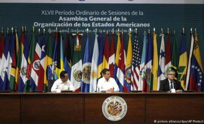 OEA crea «grupo de trabajo» para Nicaragua con participación de doce países