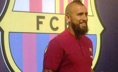 """Arturo Vidal: """"Vengo a ganar todo con el Barcelona"""""""