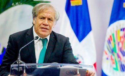 """Secretario general de la OEA no descarta """"intervención militar para derrocar el régimen de Maduro"""""""