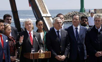 """Piñera: """"Antofagasta ha sido, es y va a seguir siendo chilena"""""""