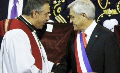 """Piñera tras Te Deum Ecuménico: """"Espero que la Iglesia pueda superar los tiempos oscuros que vivió cuando se cometieron tantos abusos sexuales"""""""