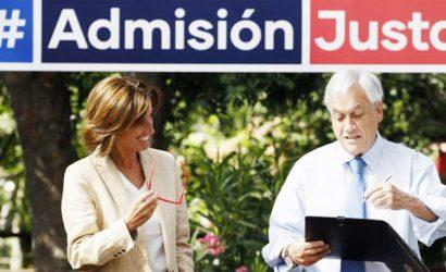 """Piñera firma proyecto """"Admisión Justa"""" que permite a colegios seleccionar alumnos"""