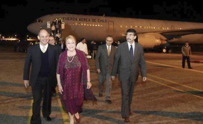 Hasta el dueño del Liguria y el grupo Los Tres viajaron invitados por Bachelet en sus giras presidenciales