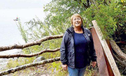 Propiedad de Bachelet en el lago Caburgua se encuentra irregular
