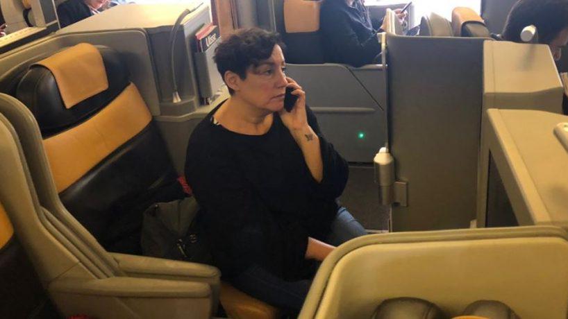 José Antonio Kast ironiza con foto de Beatriz Sánchez viajando en primera clase