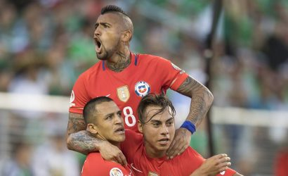 Vargas es la gran sorpresa de Chile para la Copa América
