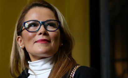 """Cathy Barriga no descarta una candidatura presidencial: """"Mañana veremos qué sucede…"""""""