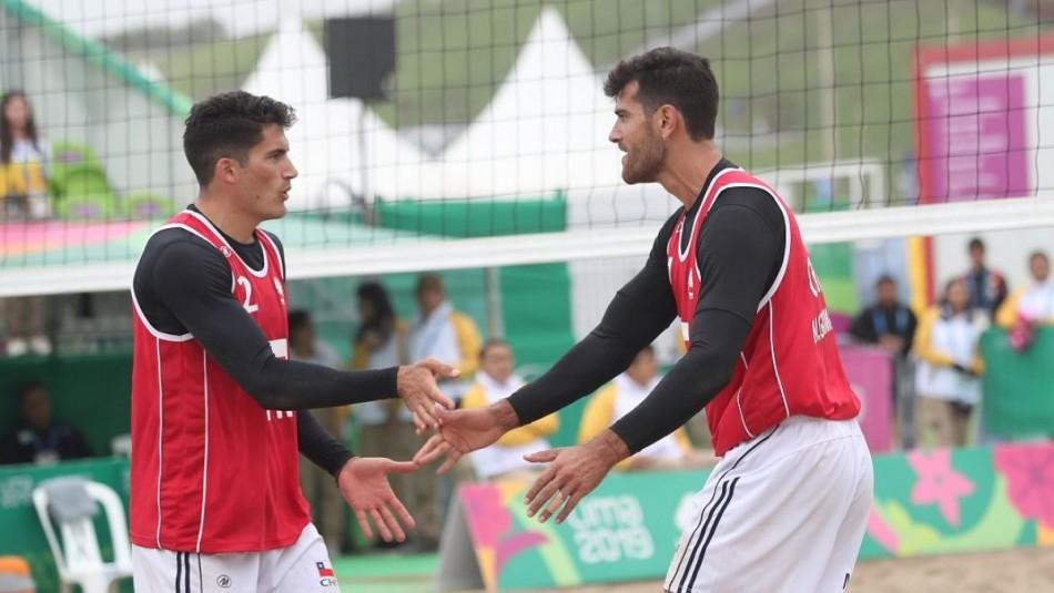 Primos Grimalt históricos: Logran medalla de oro en voleibol playa en Panamericanos