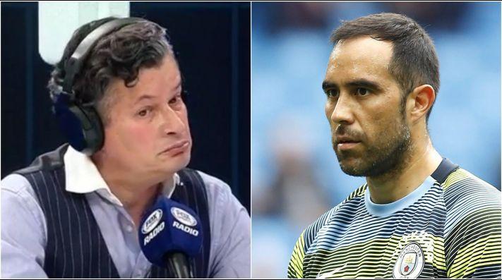 """Felipe Bianchi asegura que Claudio Bravo está """"emputecido con Colo Colo"""" y que """"no tiene ganas de volver, incluso a Chile"""""""