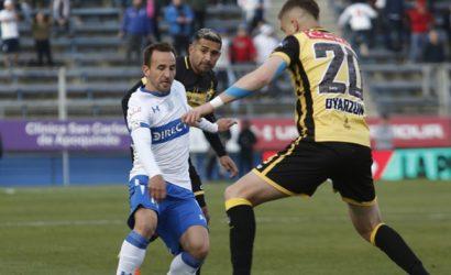 Universidad Católica igualó con Coquimbo Unido y quedó a diez puntos de Colo Colo