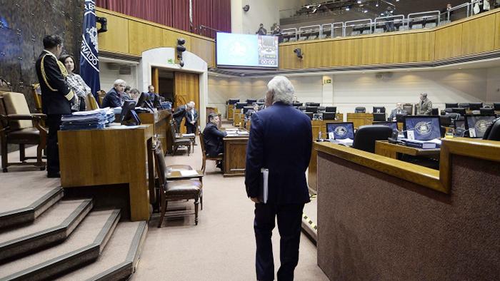 Ahora sí: con votos de la oposición, Senado aprueba Ley Corta Antiterrorista