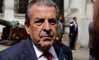 """Gobierno lamenta """"profundamente"""" situación que vive el ex presidente Eduardo Frei"""