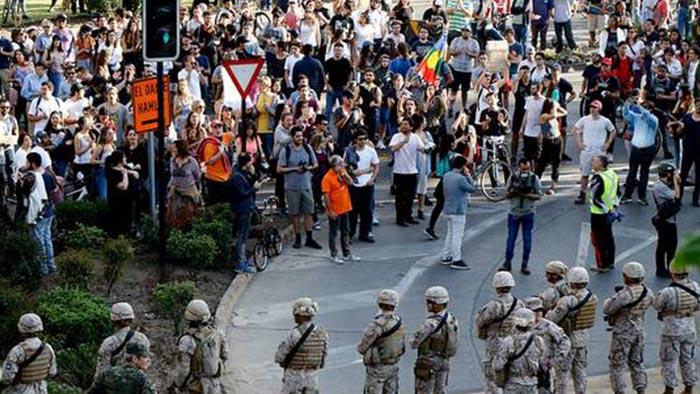 """OEA acusa """"intentos externos de destabilización"""" en Chile: apunta al madurismo y a Cuba"""