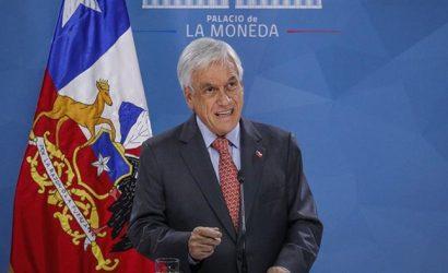 """Presidente Piñera: """"Estamos en guerra contra un enemigo poderoso"""""""
