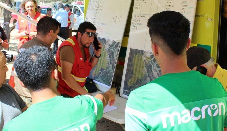 Santiago Wanderers va en ayuda de las víctimas del incendio en Valparaíso