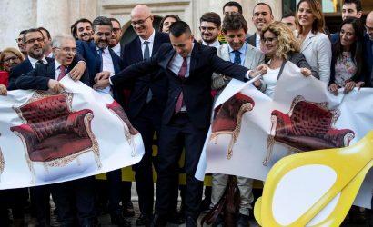Tijeretazo en Italia: se eliminan 230 diputados y 115 senadores