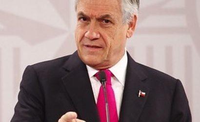 """Piñera aseguró que muchos videos que dan cuenta de violaciones a DDHH """"son filmados fuera de Chile"""""""