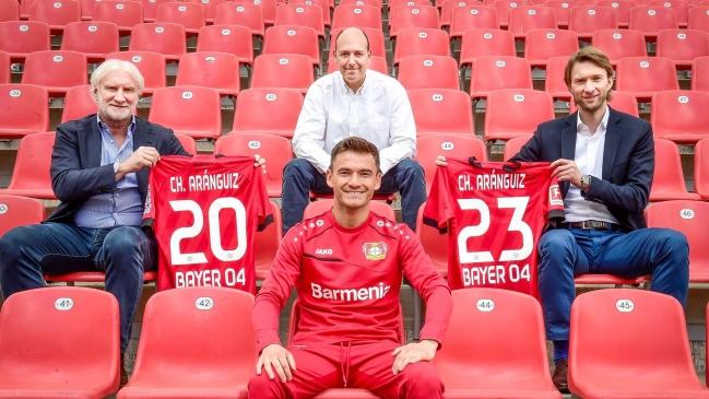 Charles Aránguiz renovó en Leverkusen hasta el 2023: Es la continuación de una relación especial