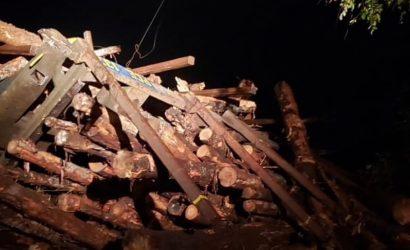 La Araucanía: Sabotaje afecta a línea férrea en Ercilla