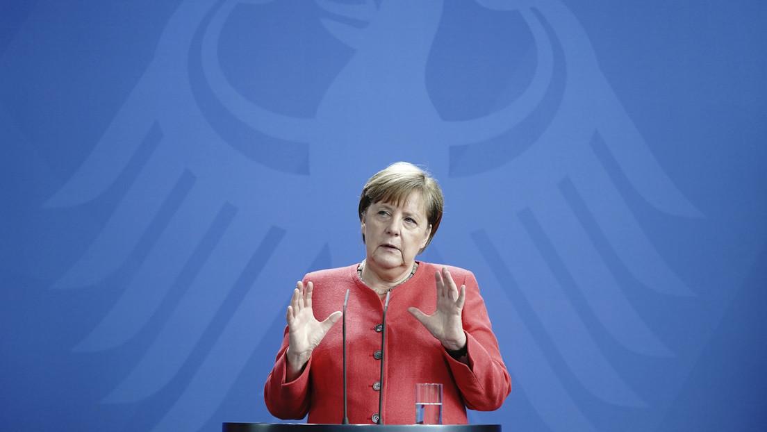 Merkel: «Si EE.UU. quisiera dejar su papel de potencia mundial, la UE tendría que replantearse muchas cosas»