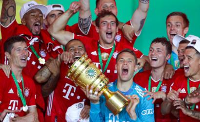 Bayern Múnich ganó la Copa de Alemania con cómodo triunfo sobre Bayer Leverkusen de Aránguiz