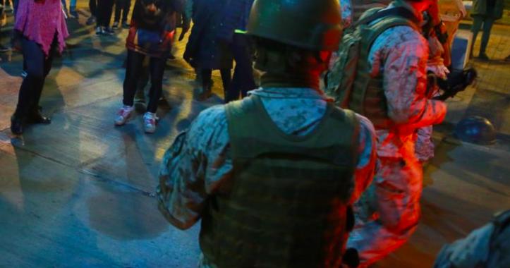 Hombre acusa que militares dispararon perdigones en su rostro: Intendencia refuta teoría