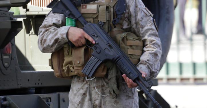 Militar resulta herido en la cabeza tras emboscada en Ercilla