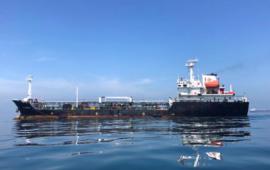 Estados Unidos incautó cuatro buques que llevaban petróleo de Irán a Venezuela