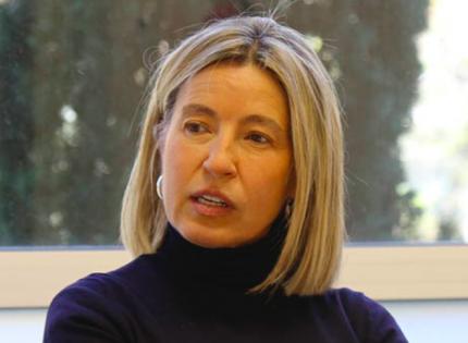 """María Calvo: """"El padre ha sido destronado y ha quedado reducido a ser una mamá-bis»"""