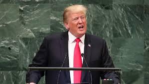 """Trump pide la ONU enfocarse en """"los problemas reales del mundo"""", como la defensa de la vida y la fe"""