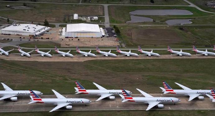 American Airlines y United anuncian 32.000 despidos