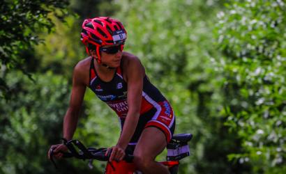 Brilló en Sidney: Bárbara Riveros remató segunda en la prestigiosa Nepean Triathlon 2020