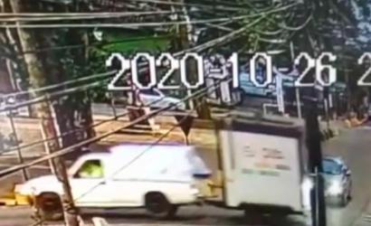 Increíble: roban food truck a metros de la Prefectura de Carabineros de Linares y el cuartel central de la PDI