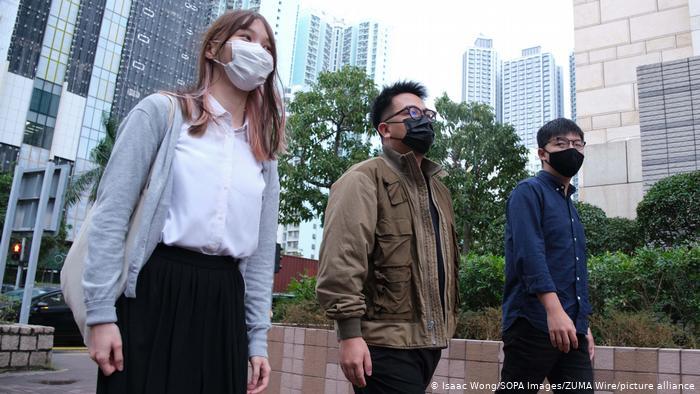 Hong Kong: jóvenes líderes pro-democracia detenidos tras declararse «culpables»