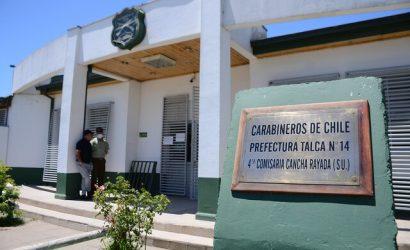 Explota paquete dirigido a carabinero en comisaría de Talca