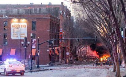 Reportan que el FBI investiga si la explosión en Nashville fue por «paranoia con el 5G»