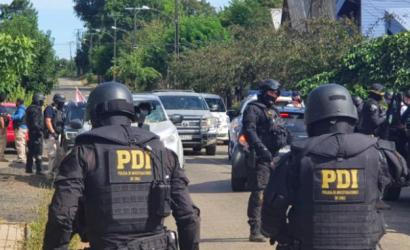 Designan a fiscal exclusivo para indagar muerte de funcionario PDI durante allanamiento en Ercilla