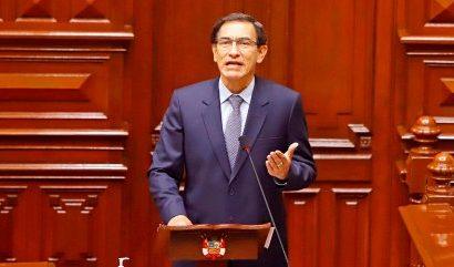 Excluyen a ex presidente Martín Vizcarra de la lista de candidatos al Congreso de Perú