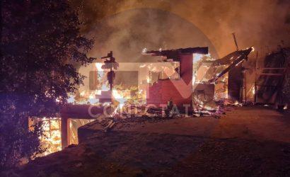 Ataque incendiario a domicilio del Juez Jhon Landeros