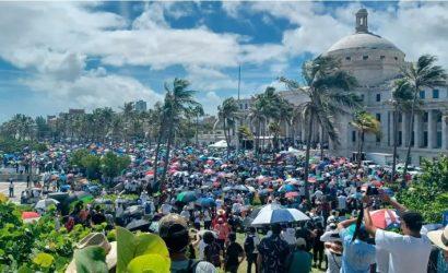 """Decenas de miles marchan para decirle """"no"""" a la ideología de género en Puerto Rico"""