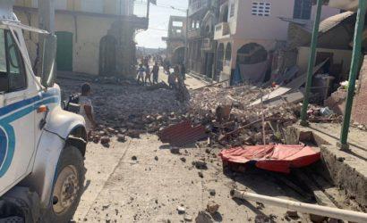 Autoridades de Haití confirman fallecidos tras sismo de magnitud 7,2