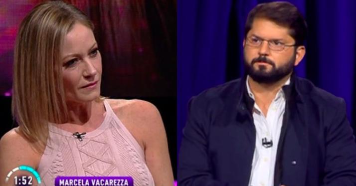 Marcela Vacarezza contradice a Boric por opinión sobre caso Carozzi y La Red: «No Sr. se equivoca»