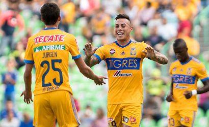 Mira el nuevo gol de Eduardo Vargas en México con el que Tigres empató ante Santos Laguna