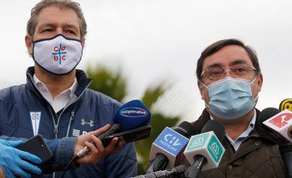 """INTENDENTE GUEVARA: """"NO HAY FECHA PARA EL RETORNO DEL FÚTBOL, SERÍA UNA IRRESPONSABILIDAD"""""""