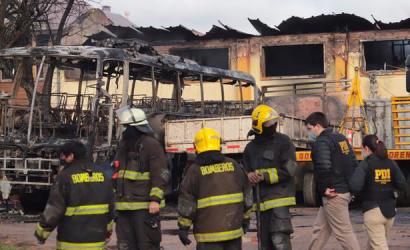 Noche de violencia e incendios en región chilena de La Araucanía