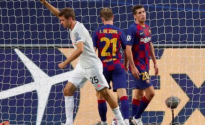 Histórica derrota del Barcelona de Messi: el Bayern Munich lo goleó 8 a 2 y lo eliminó de la Champions League