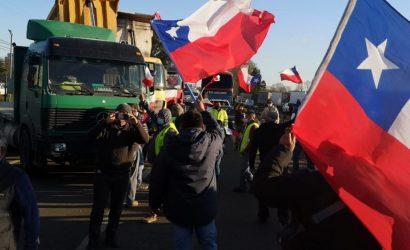 «Los camioneros estamos descontentos»: continúan manifestaciones con cortes de ruta en La Araucanía